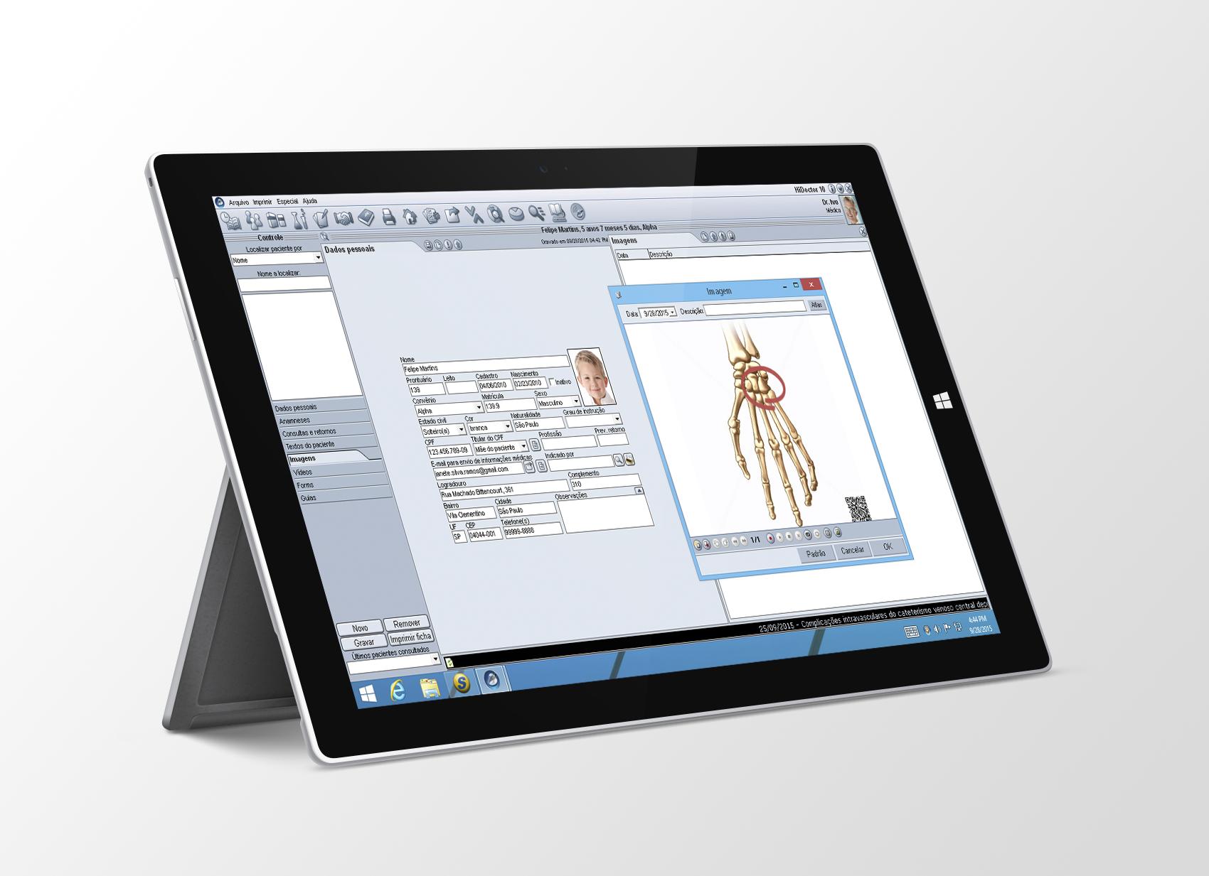 HiDoctor no Surface Pro 3
