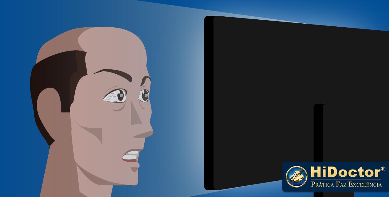 O tempo prolongado no computador causa incômodo visual? Veja como resolver