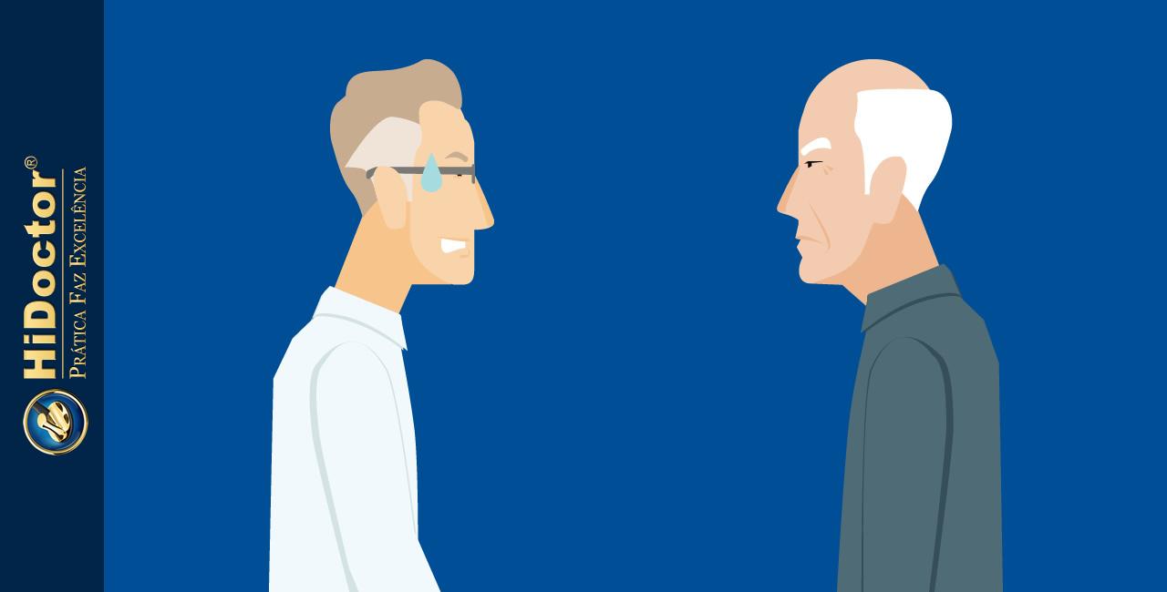 Paciente insatisfeito: você sabe como lidar com a situação?