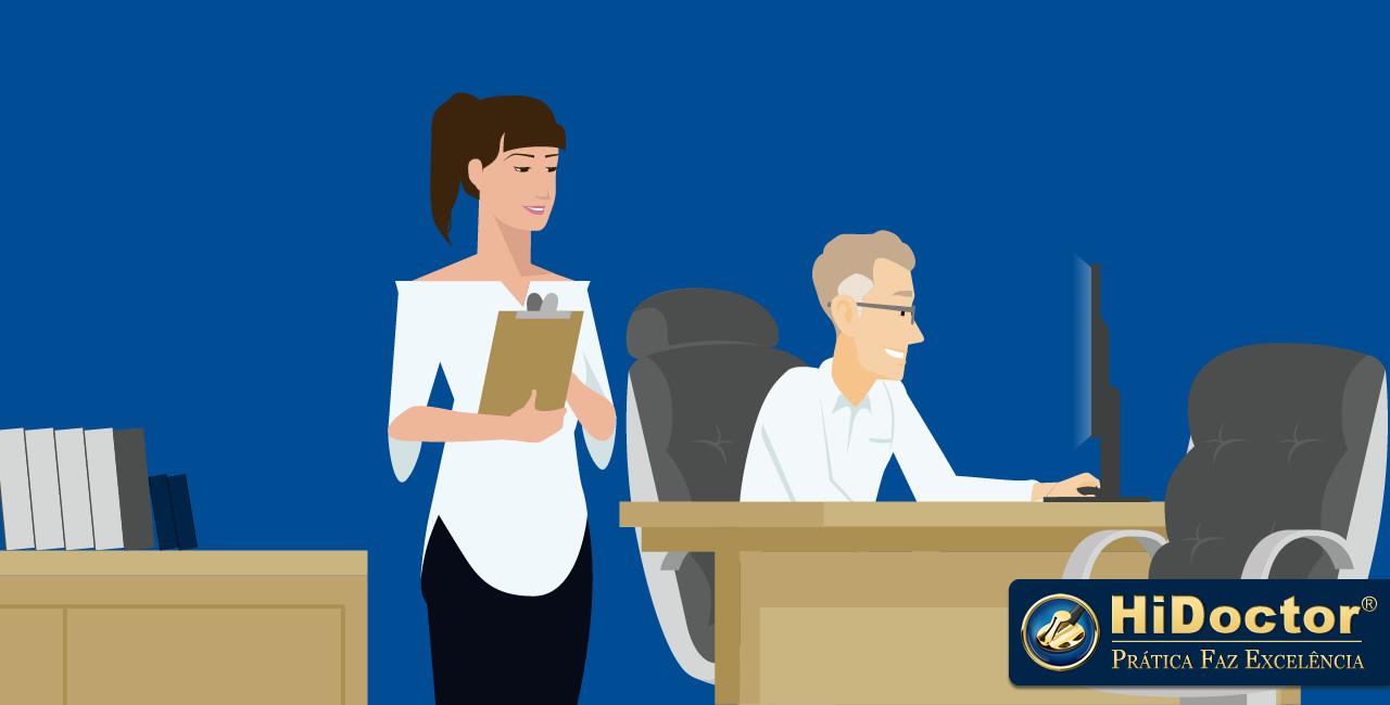 Por que sua secretária é essencial em seu consultório