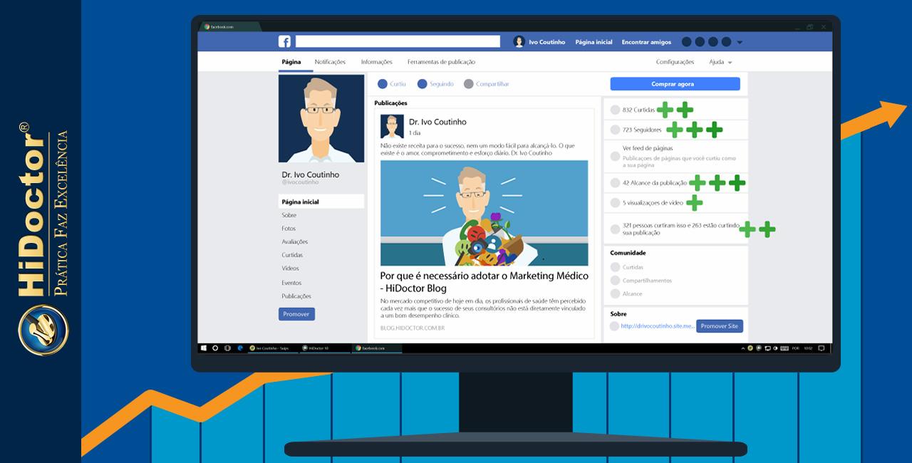 Qual a melhor rede social para divulgar seu consultório?