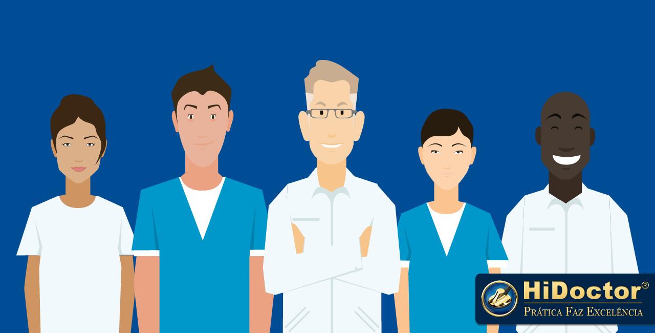 Sua equipe é essencial para o sucesso do consultório