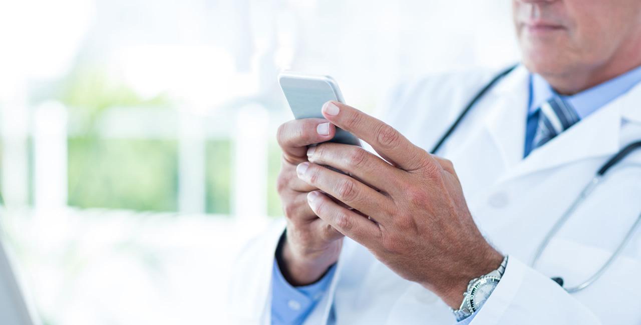 Você está sempre disponível para seus pacientes?