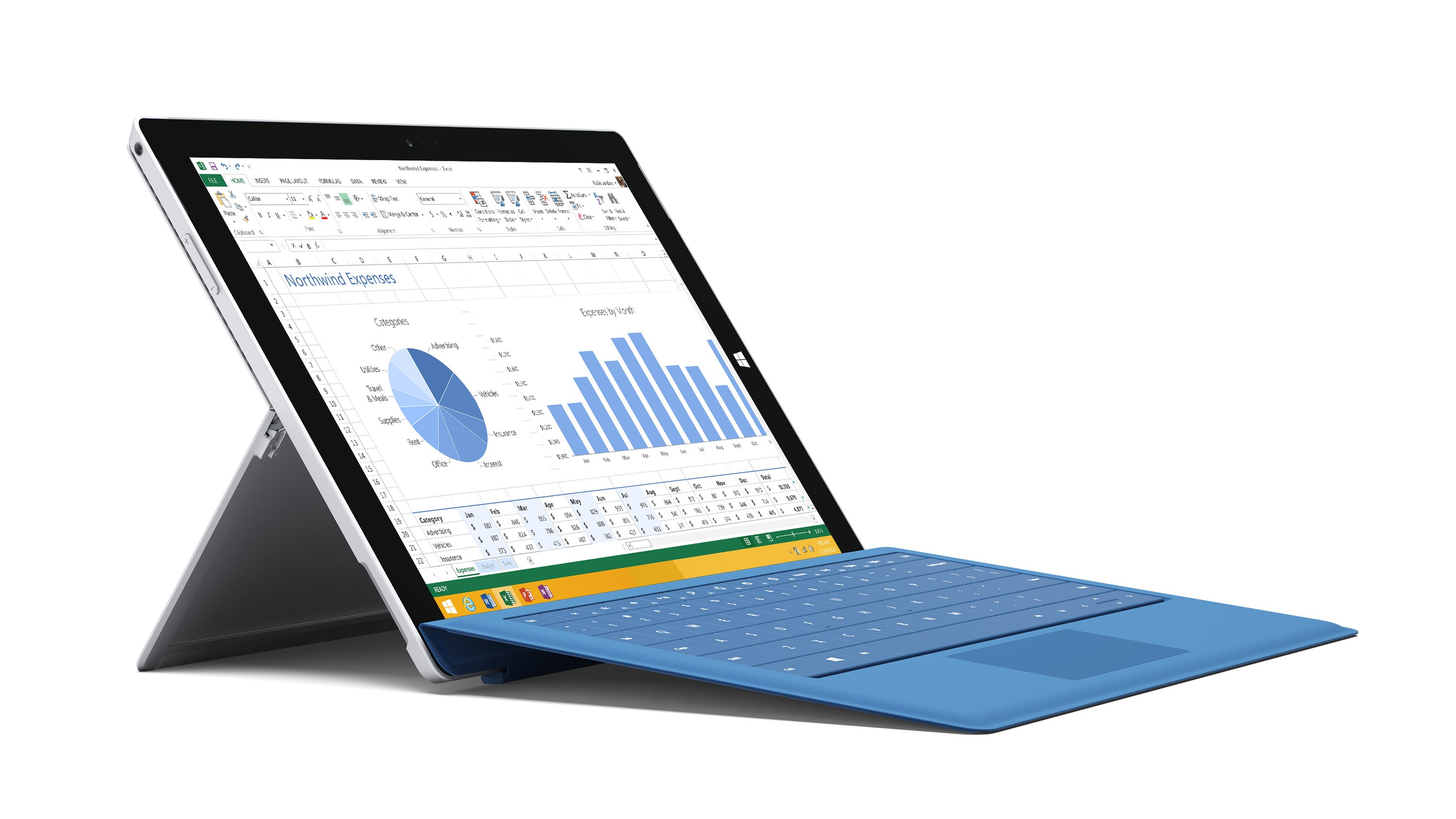 Type Cover do Surface Pro 3