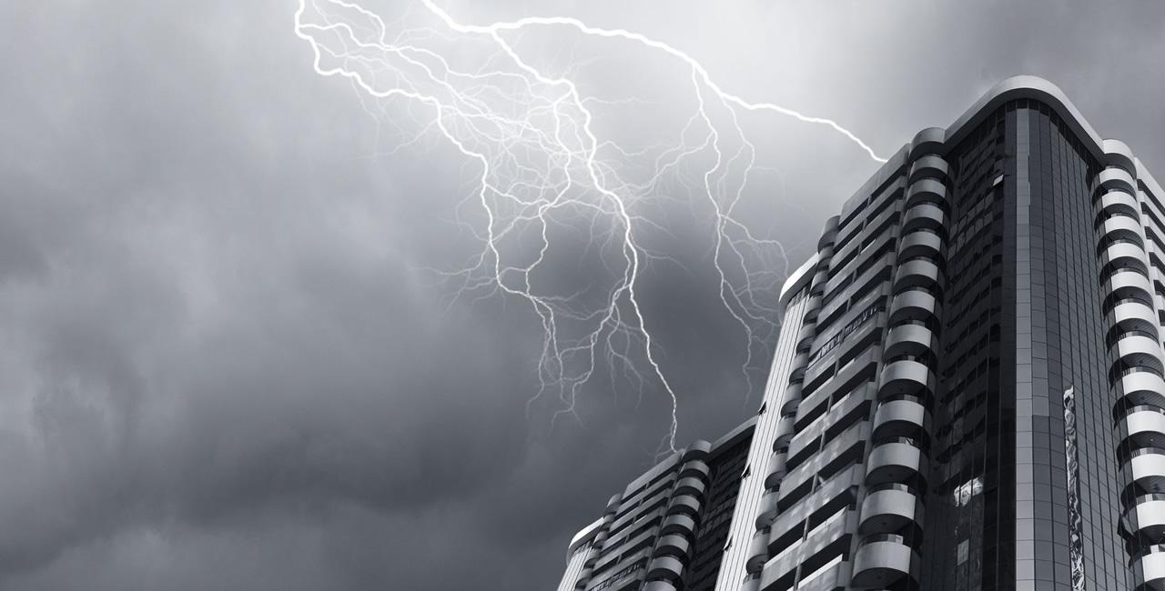 Chuva de verão e queda de energia