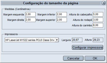 HiDoctor® - Configurações da página