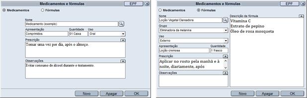 HiDoctor® - Cadastro de medicamentos e fórmulas