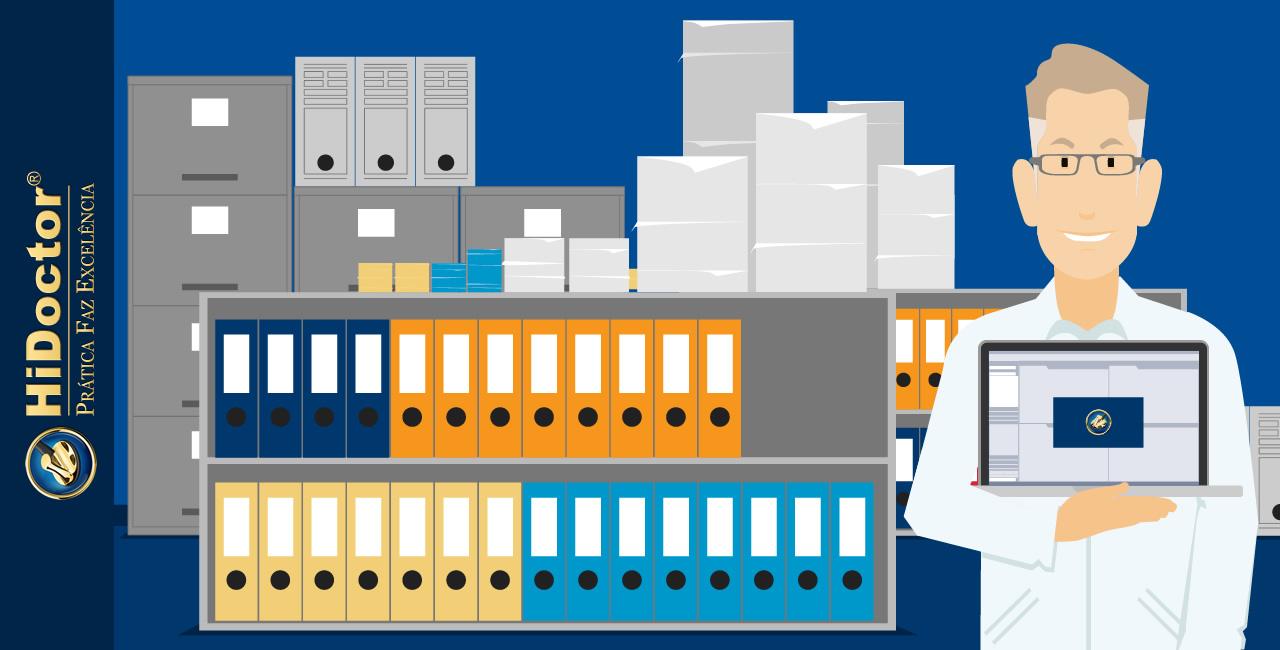 A maneira mais fácil de manter o consultório organizado