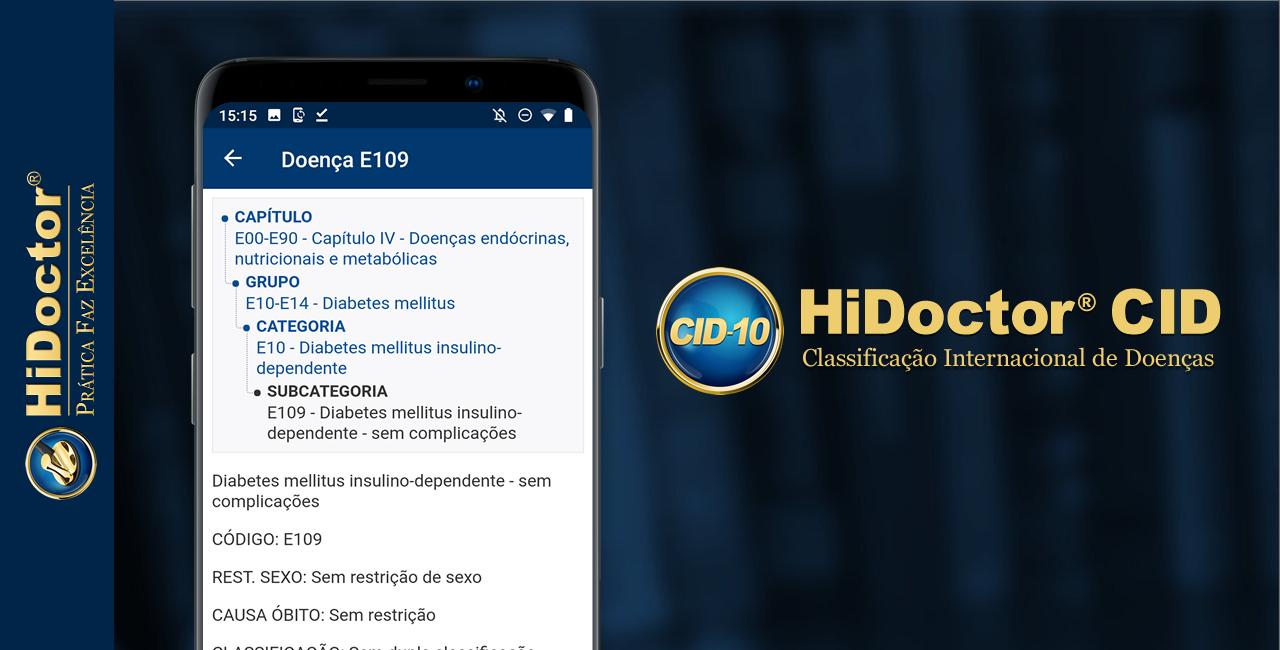 App CID-10: a Classificação Internacional de Doenças completa na palma de sua mão