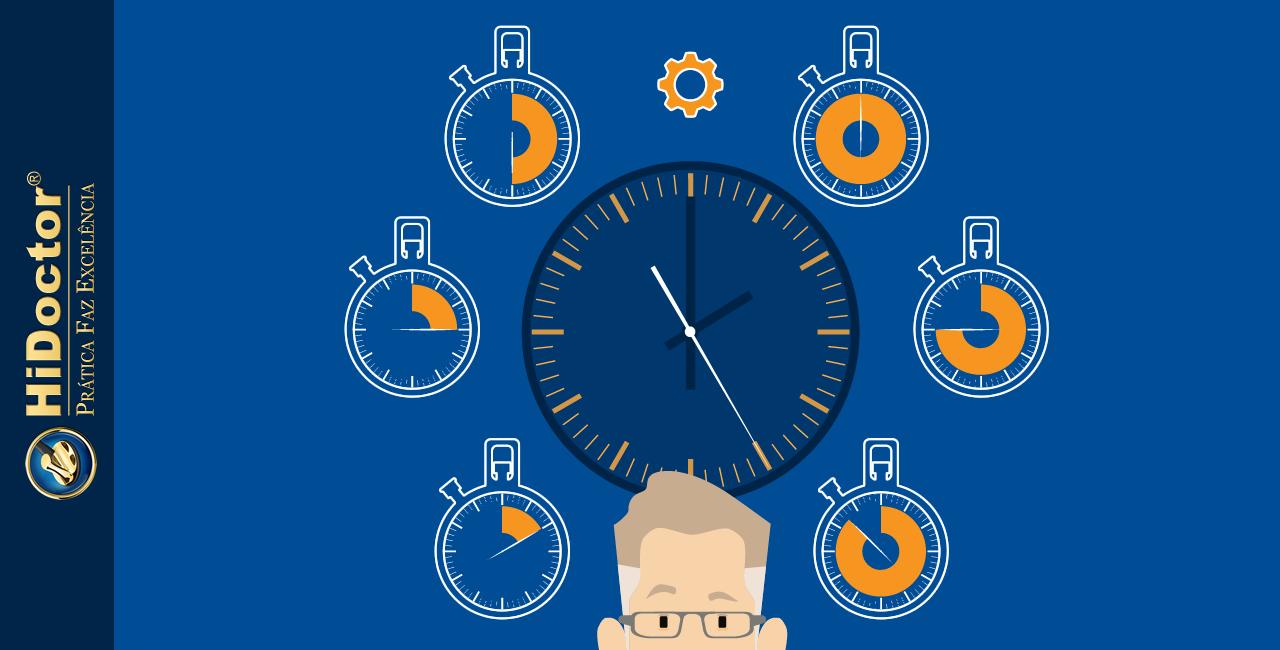Como aprimorar sua gestão de tempo para maior eficiência no consultório