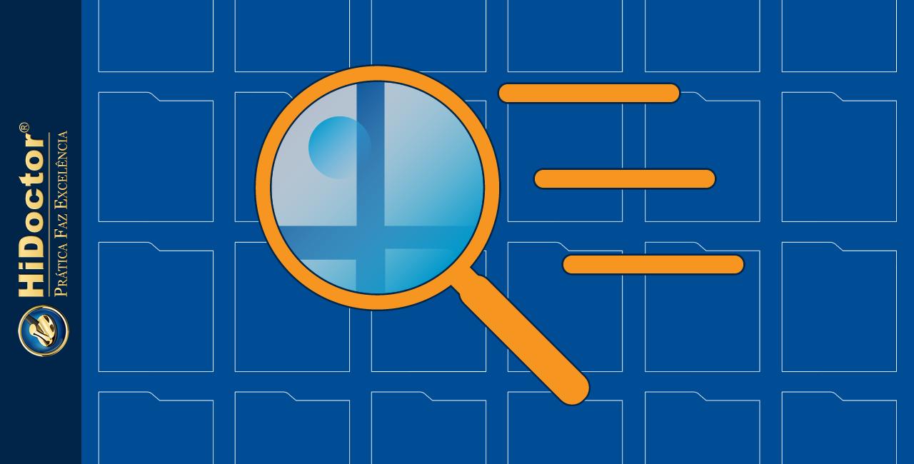 Busca avançada no prontuário eletrônico: encontre facilmente os dados que desejar