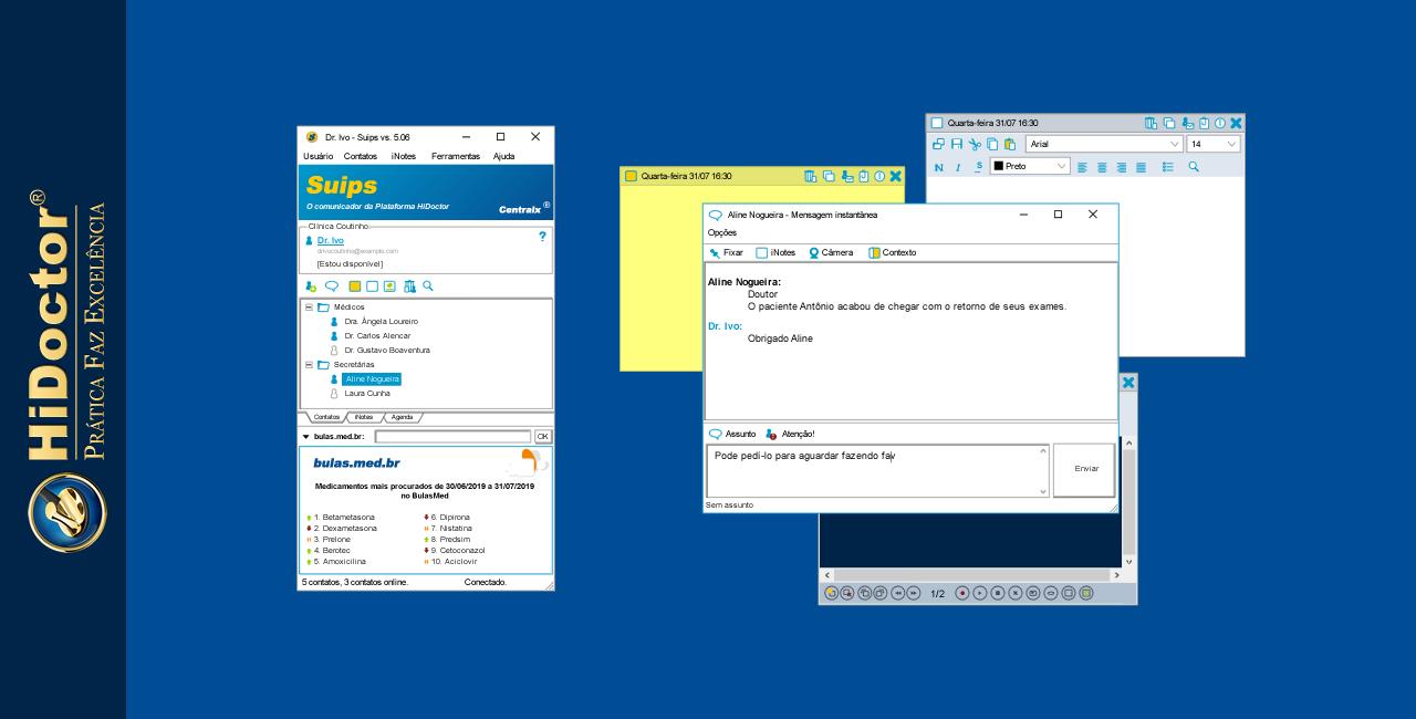 Suips - chat para comunicação prática com a secretária no dia-a-dia