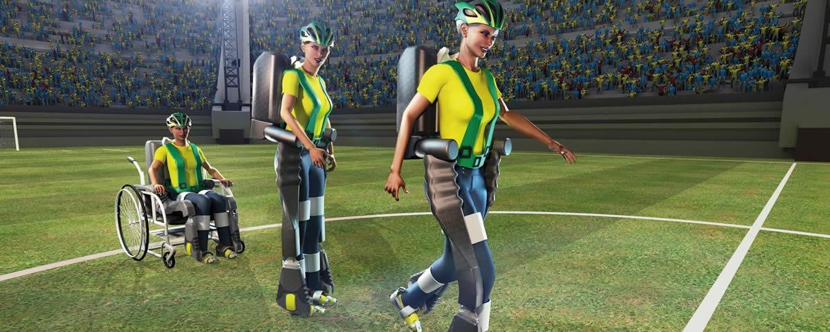 Treinamento da tecnologia de exoesqueleto do Projeto Walk Again foi feito via realidade virtual