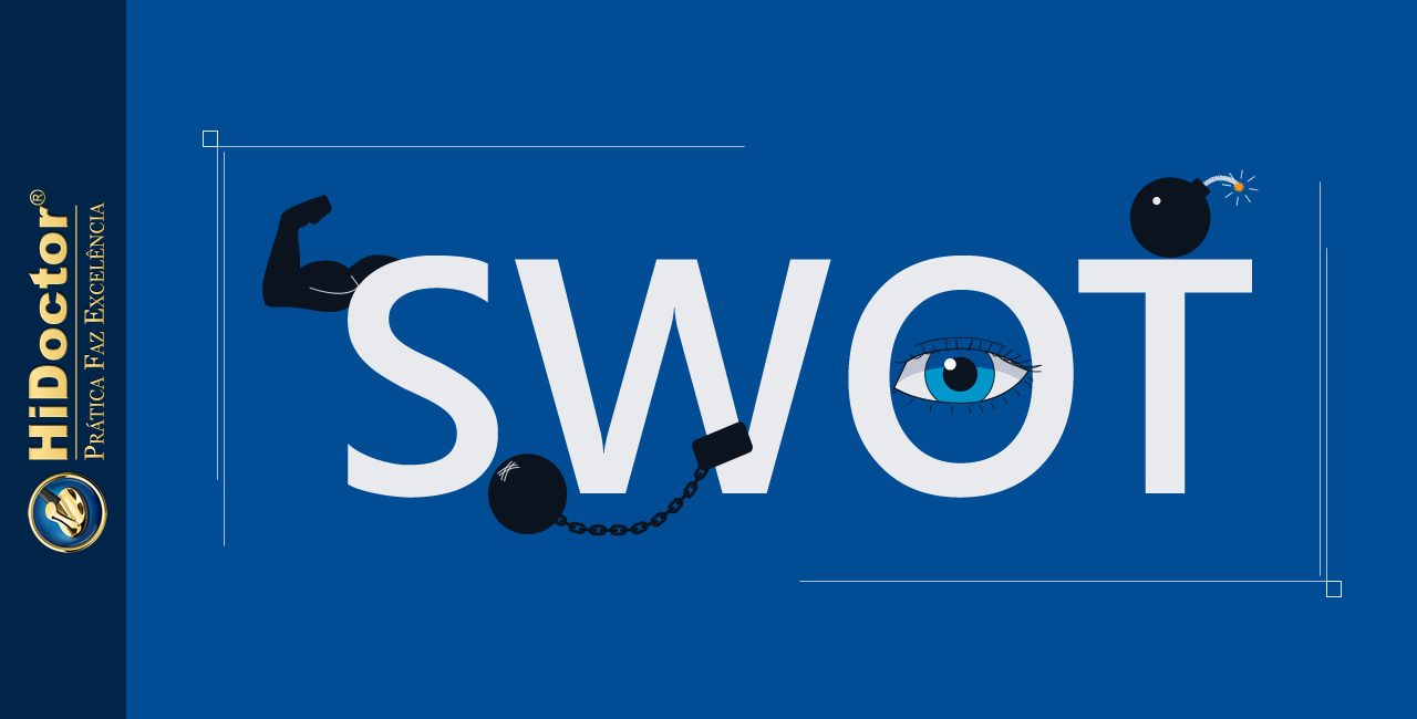 Como a análise SWOT ajuda na administração do seu consultório
