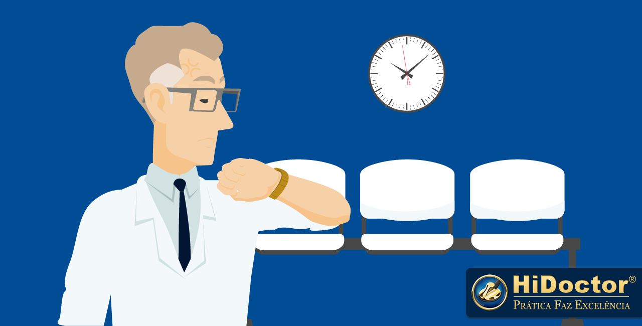 Como lidar com pacientes atrasados