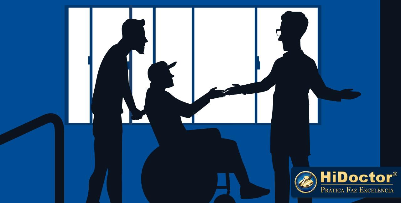 Como melhorar a interação com pacientes com necessidades especiais