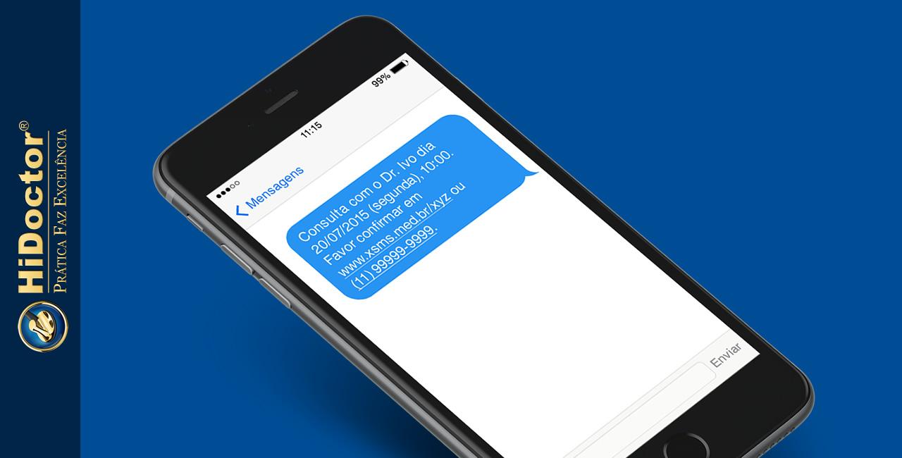 Confirmação de consultas por SMS reduz faltas em até 60%
