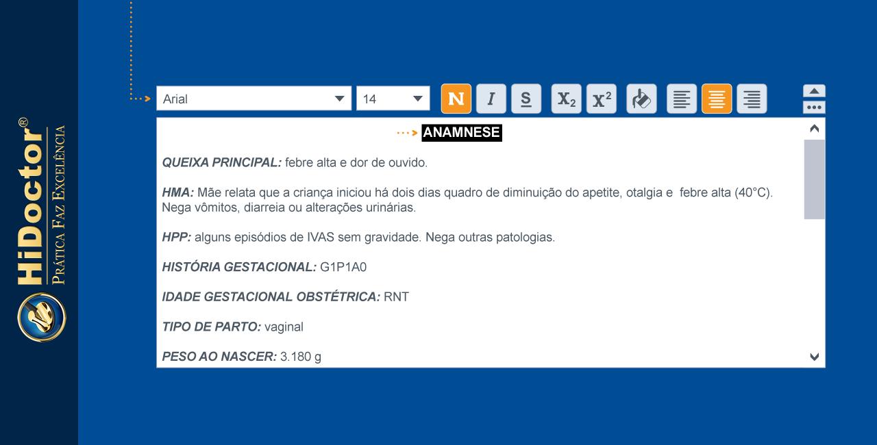 Edição de textos no software médico — dicas práticas para o dia a dia