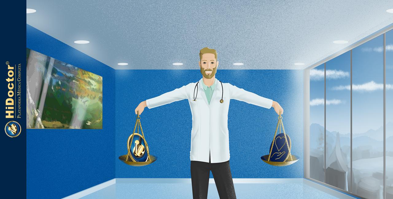O equilíbrio certo tecnologias e os cuidados dos pacientes