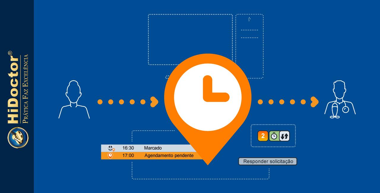 Facilitando o agendamento online de consultas com o HiDoctor®