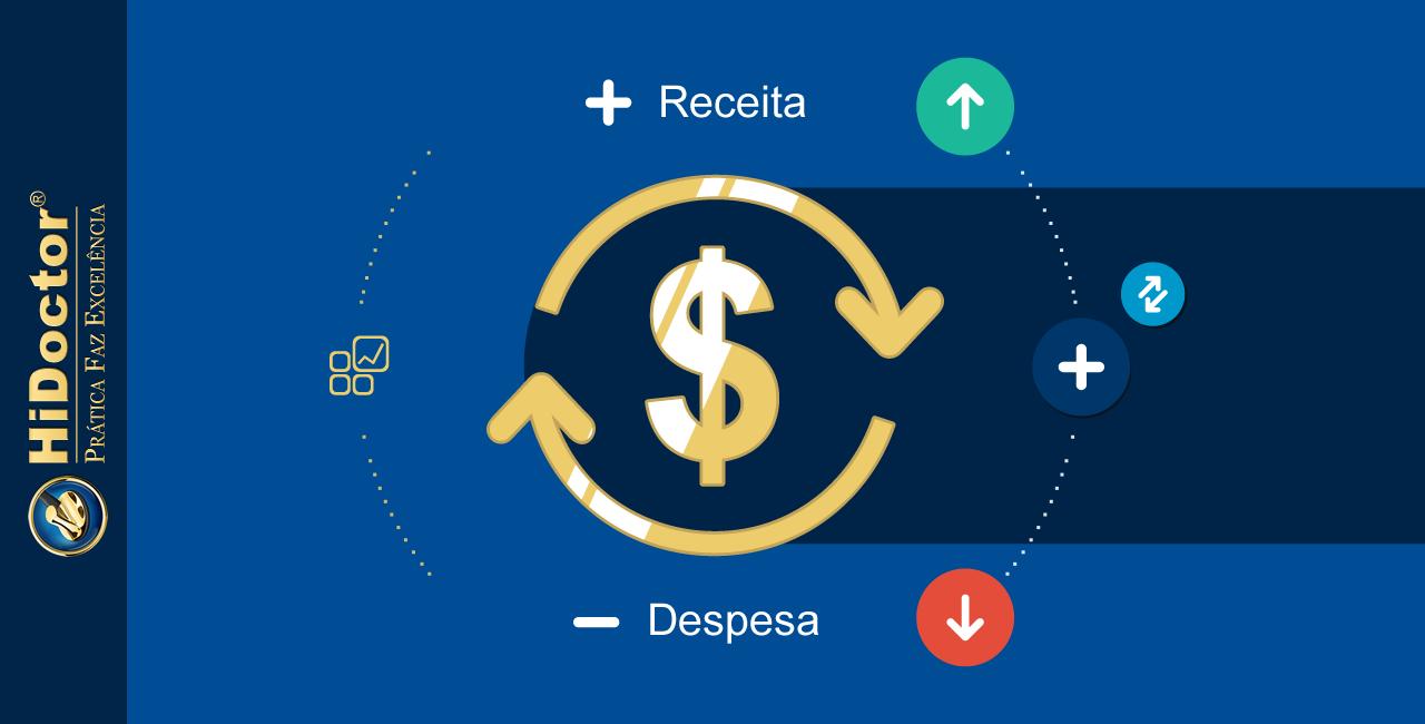 Fluxo de caixa: faça o controle financeiro do consultório integrado ao software médico