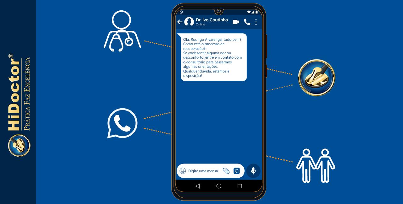 Novidade no HiDoctor®: integração com o Whatsapp para envio prático de mensagens