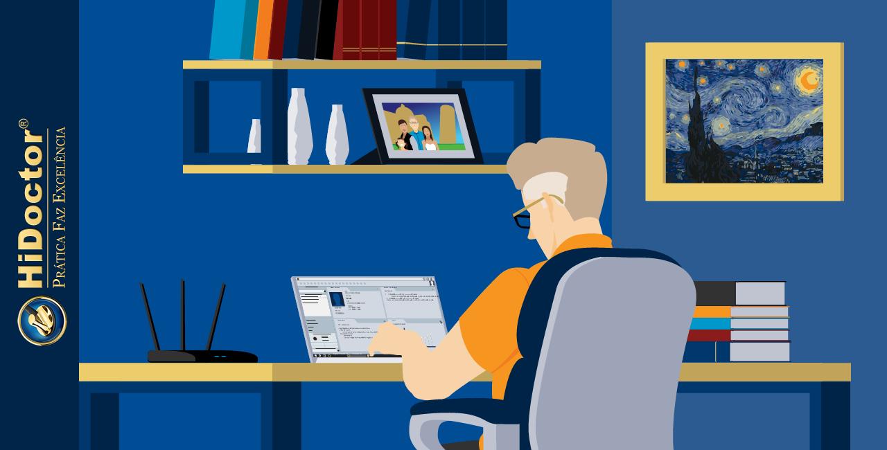 Home Office é possível para consultórios médicos? Como organizar e manter a produtividade