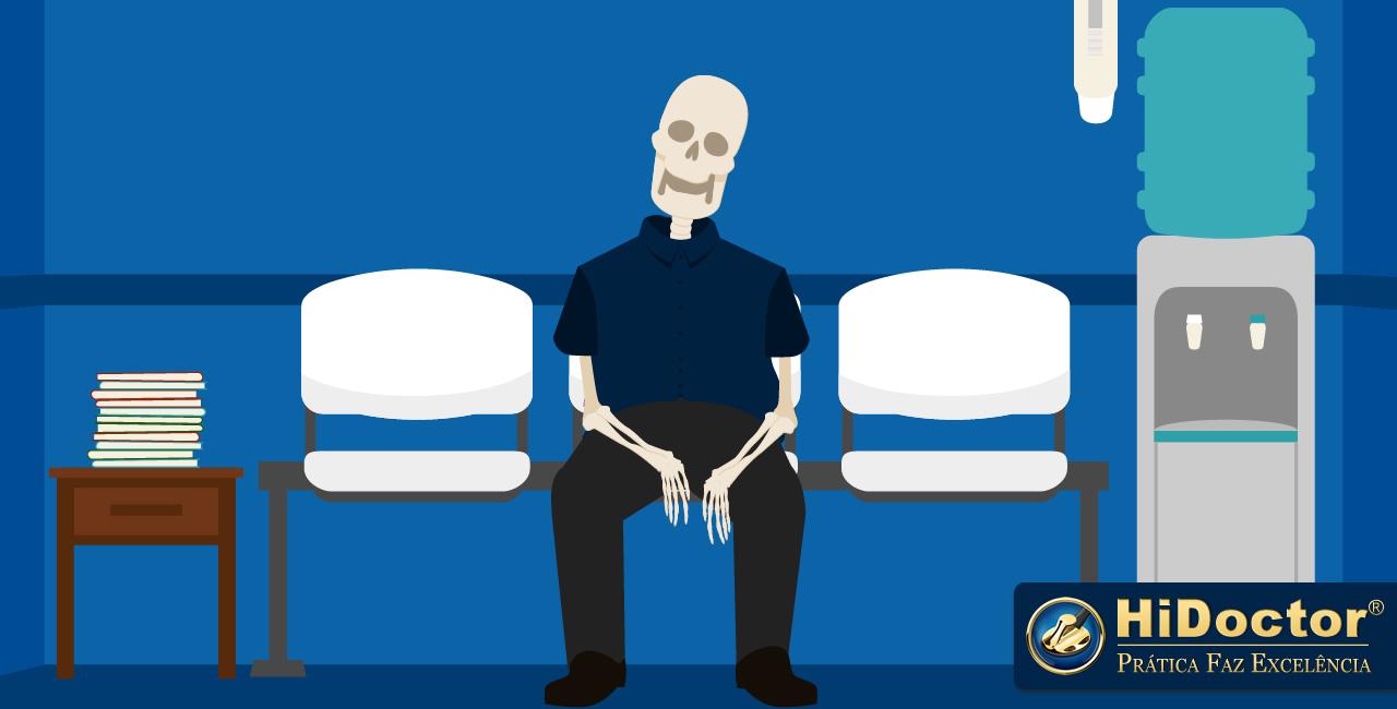 O que o paciente realmente quer quando sua consulta atrasa