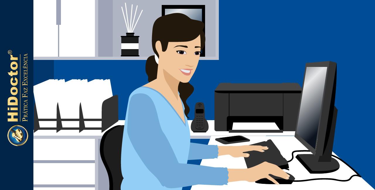 Recepção do consultório — a importância do atendimento excelente