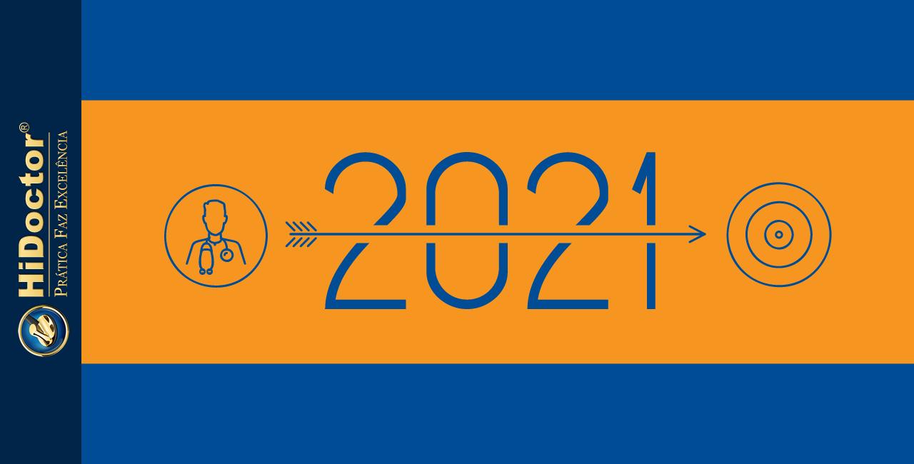 Resoluções de ano novo para seu consultório médico continuar evoluindo em 2021