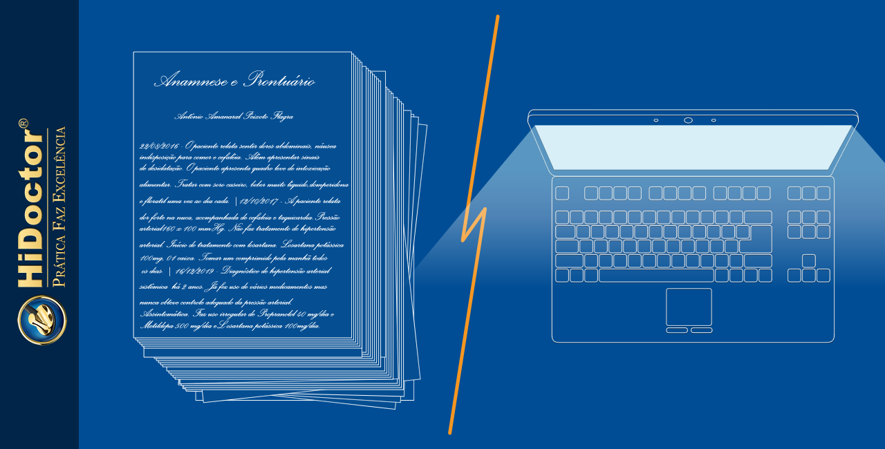 Qual a vantagem em sair do sistema manual e informatizar o consultório?